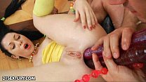 Anal training of Isabell Thumbnail