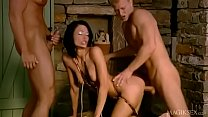 Gorgeous skinny euro beauty gets dped and dpp'd