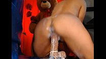 Mexican Milf Had A Sloppy Sextoy Creampie - Full video on cam99free.net