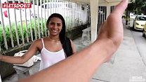 LETSDOEIT - Ebony Latina Picked Up From The Market and Fucked Hardcore