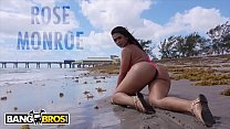 BANGBROS - Latina MILF Rose Monroe Gets Her Big Ass Fucked In Public!