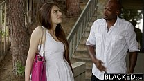 BLACKED First Interracial For Pretty GF Zoe Wood preview image