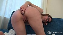 Cutie Sierra Double Toying Her Pussy And Ass thumbnail