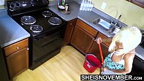 Big Breasted Step Daughter Pulled Huge Boobs Out Of Hot Shirt While Cleaning Up Before Daddy Gets Home, Little Ebony Msnovember Large Nipples And Areolas Exposed HD On Sheisnovember صورة