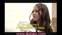Lesbea Young bride changes her mind
