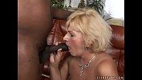 Granny loves black cock Preview