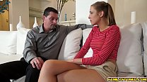 Molly Manson blowjob her step dads big matured cock