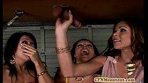 Femdom Sienna West in cool foursome