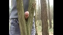 Wanking in woods11