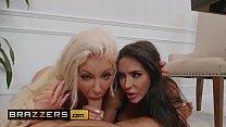 (Lela Star, Nicolette Shea, Keiran Lee) - I Don't Know Her - Brazzers صورة