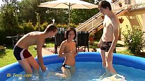 bisex threesome with young teens mmf image