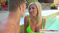 Mommy watches stepteens first time anal preview image
