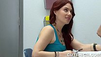 Horny Teen Baits a Fellow Student