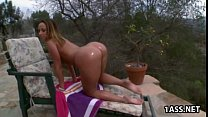 Oiled ass Jada Stevens Preview