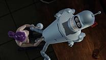 Futurama - Leela gets creampied by Bender - 3D ...