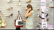 Daughter Fucked In Shoe Store