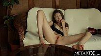 Watch Mila Azul's big beautiful tits jiggle as she masturbates!
