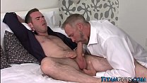 Mature hung hunk fucks