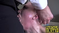 Busty Leya Falcon anally dicked into submission