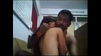 Desi housewife sex with husband on night time