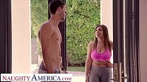 Jenna (Ella Knox) fucks her best friend'porno boyfr...