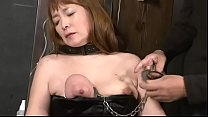 Image: japan BDSM piercing breast with needle & nail