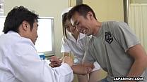 Japanese nurse, Anna Kimijima is so naughty, un...