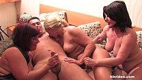 Bbvideo.com Bisexual German MILFs sharing a big cock
