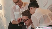Babes - Office Obsession - Aidra Fox and Ariana Marie and Markus Bay - Whos The Boss Now thumbnail