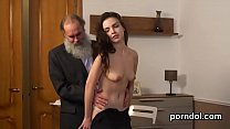 Sweet college girl gets seduced and penetrated ...