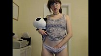 girl happylilcamgirl stripping on live webcam