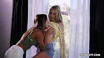 Lovely two juicy ass lesbians Uma Jolie and Blake Ede