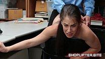 Surprising Shoplifting Cunt Backroom Sextape