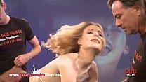 First time bukkake gangbang for gorgeous blonde babe Kitty - GGG Vorschaubild