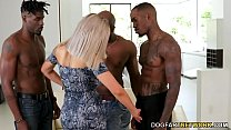 Horny Cougar Nina Elle Wants Gangbang With Blac...