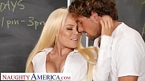 Naughty America- Nikki Delano gets sperm donated by student