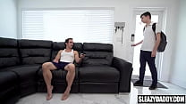 Gay uncle fucks his young nephew - daddy & twink