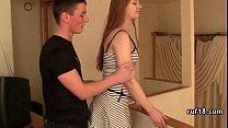 Amateur Debutant Receives Consented Rough Sex Spank