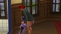 The Sims 4 sexo oral e comendo uma fantasma