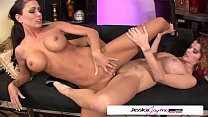 Jessica Jaymes & Joslyn James in a lesbian action, big boobs & big booty