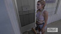 Gorgeous Teen Meets Up For Brutal Anal Preview
