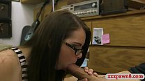Amateur Babe With Glasses Banged So Good By Paw