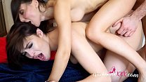 Screenshot Hannah Vivienne  And Lilu Moon Double Blowjob  Double Blowjob An