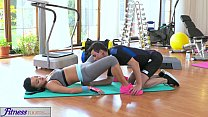 hot sexy videos ◦ FitnessRooms Multiple orgasms for black haired gym nymph thumbnail
