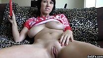Camel Toe And Huge Tits On This Amateur Slut
