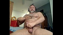 Daddy Bear Uses Nipple Clamps & p. To Cum On Cam - www.thegay.webcam