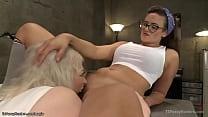 TS licks and anal fucks mechanic