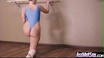 (Harley Jade) Oiled Up Big Butt Girl Enjoy Deep...