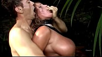 A blonde big tits buggered doggystyle by Rocco Siffredi thumbnail