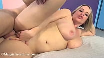 Super Busty Plump Pussy Maggie Green Opens Her ...